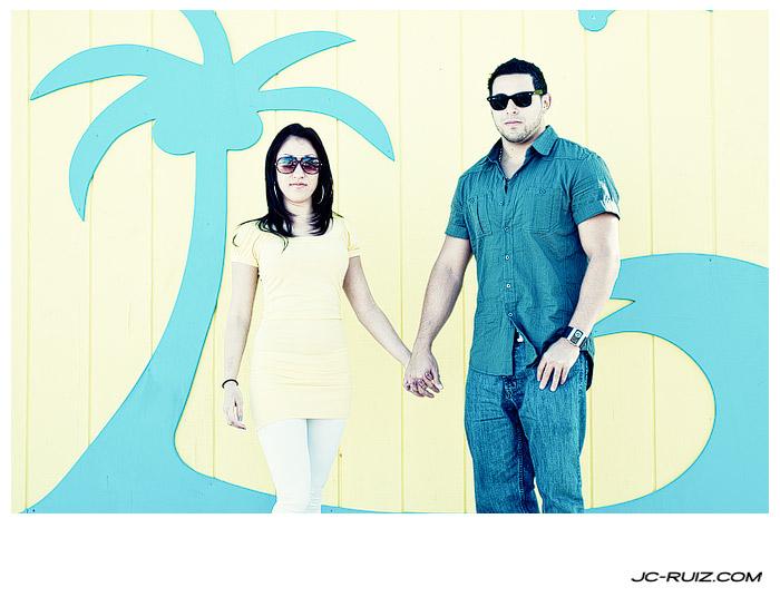 Hollywood Beach Couples Photo Shoot