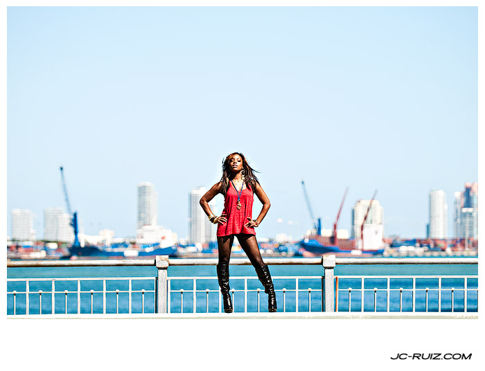 Downtown Miami Photo Shoot With Camille Kaye
