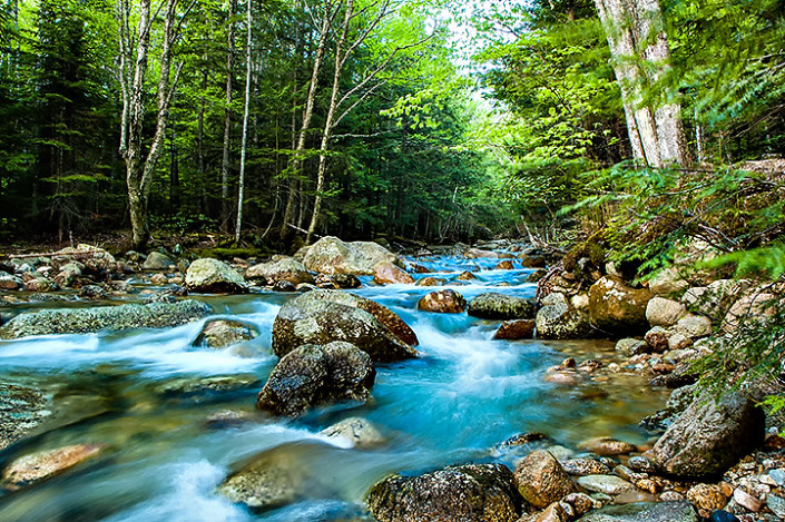 Swift River in the White Mountains, NH