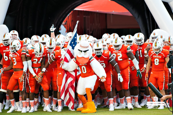 Image result for miami hurricanes football team