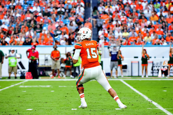 Miami's All Time Leading Passer, Brad Kaaya