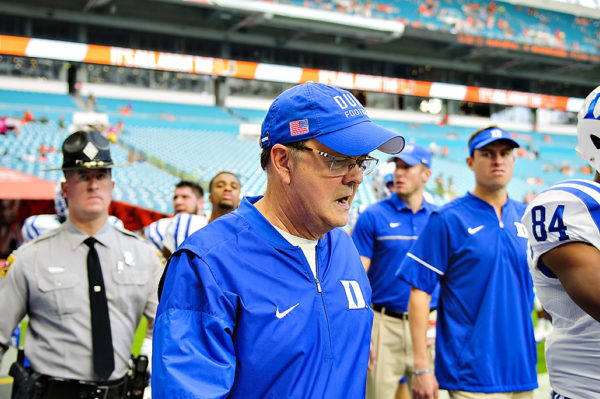 Duke Headcoach, David Cutcliffe