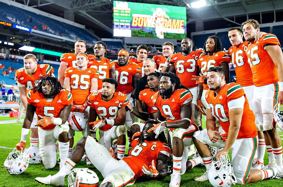 Miami Hurricanes Beat the Duke Blue Devils on Senior Day