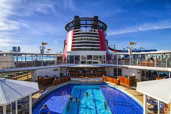 Another pool aboard the Disney Magic