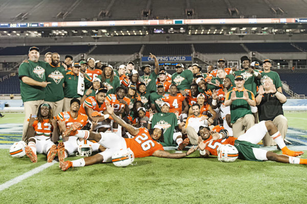 Miami Hurricanes defense and coaching staff