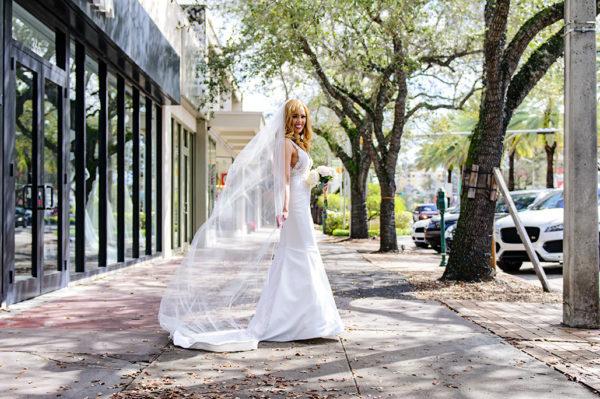 Miracle Mile Bridal Portrait
