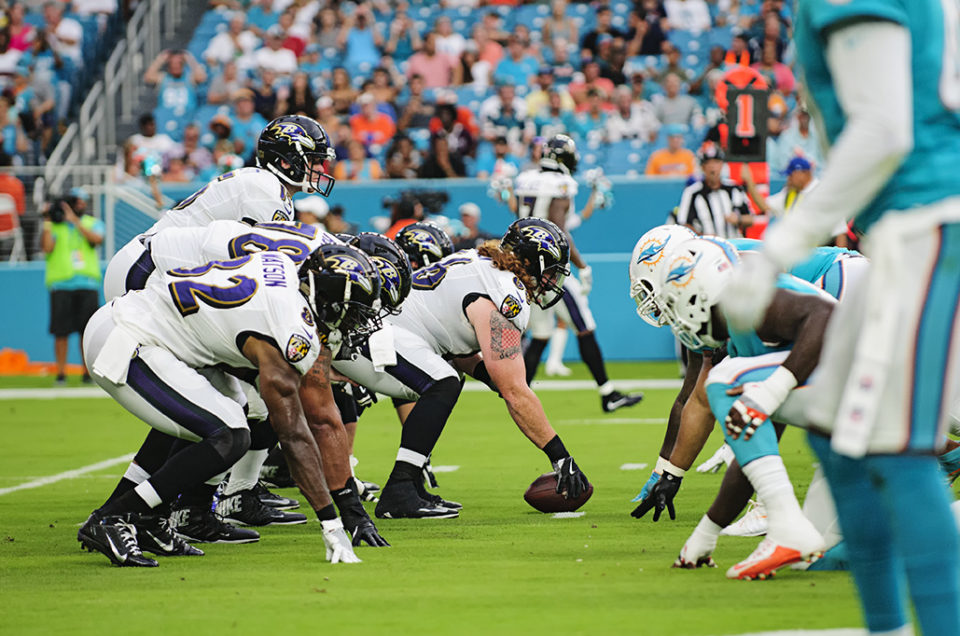 NFL Preseason – Miami Dolphins vs Baltimore Ravens