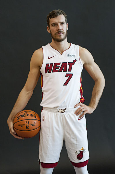 Goran Dragic poses for his portrait