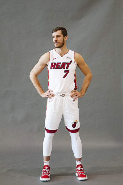 Miami Heat point guard Goran Dragic