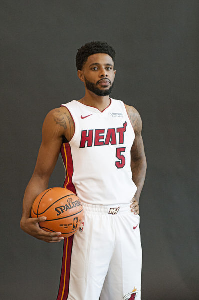 Heat guard Larry Drew