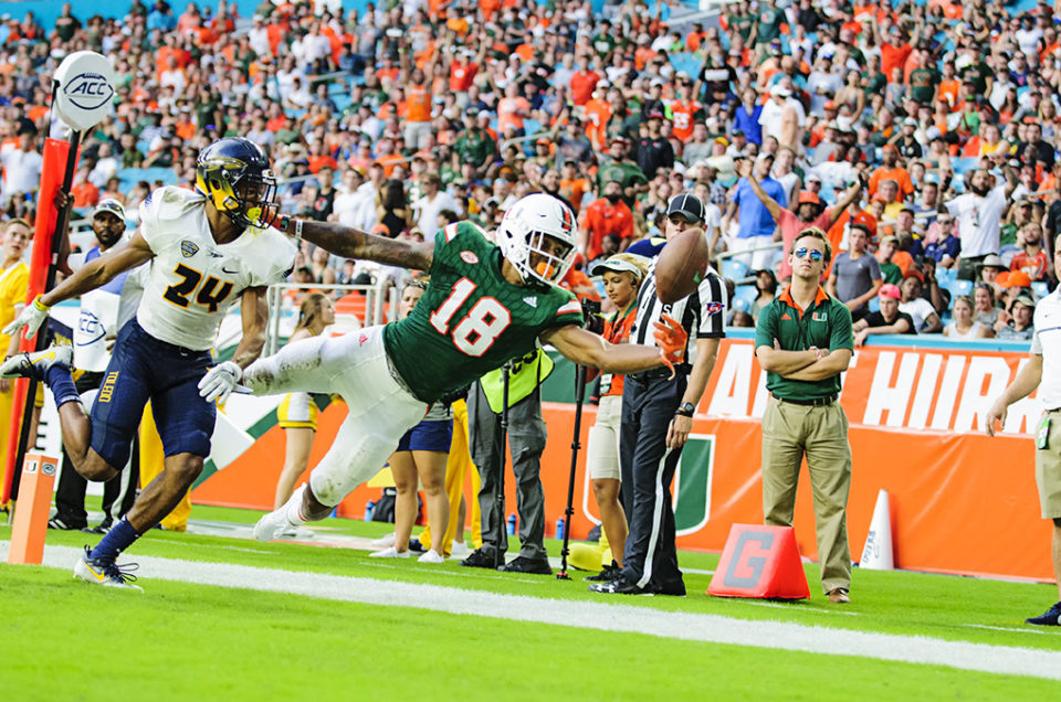 Miami Hurricanes vs. Toledo – Game Photos