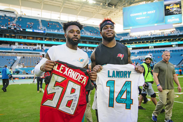 Jarvis Landry and Kwon Alexander