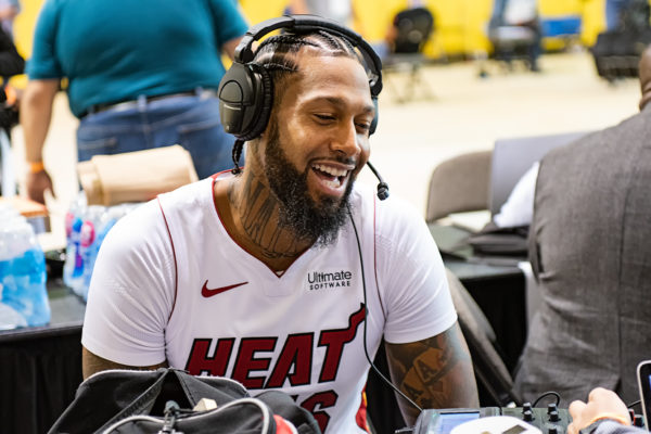 James Johnson gives a radio interview