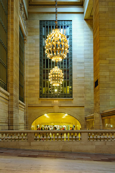 grand central station chandeliers