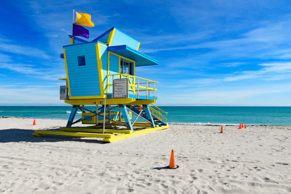 14th street lifeguard station, Miami Beach