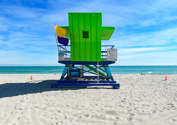 18th street lifeguard station, Miami Beach