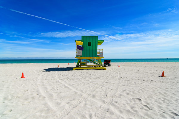 4th Street lifeguard station, Miami Beach