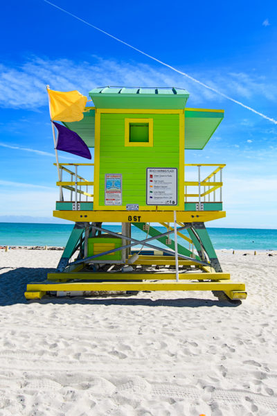 6th Street lifeguard station, Miami Beach