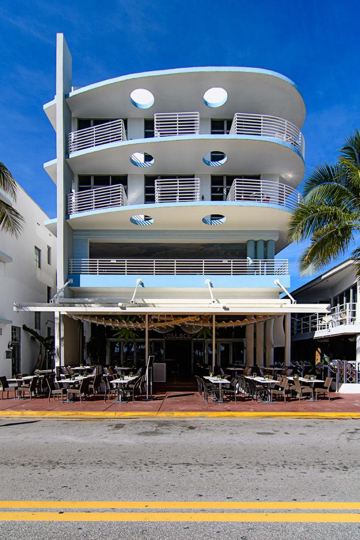 art deco hotel, Miami Beach