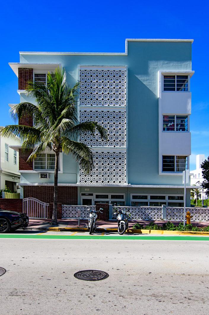 Ocean Drive Art Deco architecture