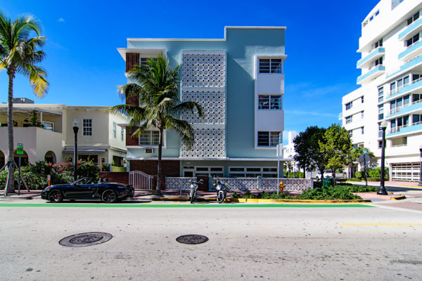Ocean Drive Art Deco architecture