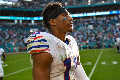 Buffalo Bills wide receiver Zay Jones (11)