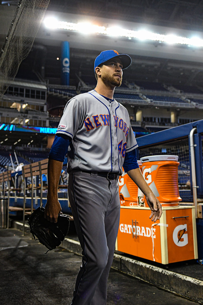 New York Mets starting pitcher Jacob deGrom #48