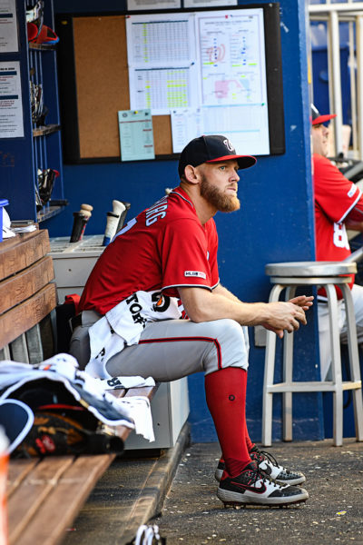 Washington Nationals starting pitcher Stephen Strasburg #37