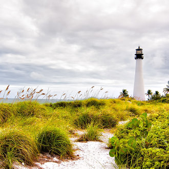 Florida Lighthouse on Key Biscayne