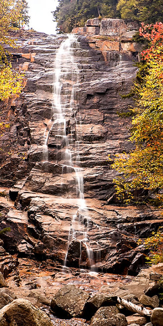 Arethusa Falls in the White Mountains