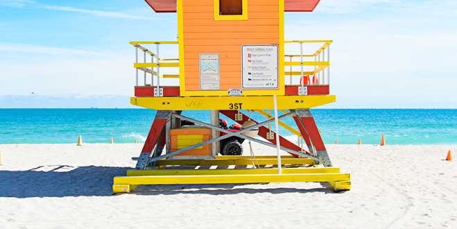 3rd Street lifeguard station
